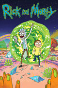 Rick And Morty - Tv Show Poster / Print Portal Size 24 X 36