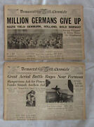 22 World War Two 2 Germany N Party Nurembourg +++ Rommell Newspapers Lot