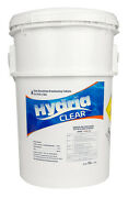 Hydria Clear 1 Inch Swimming Pool And Spa Bromine Sanitizer Tabs Tablets - 50 Lbs