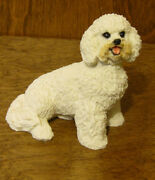 Dog Figurines By Castagna 890 Bichone, Made In Italy, New From Retail Store