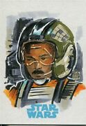 Star Wars Journey To The Force Awakens Sketch Card By Melike Acar