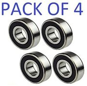 6016-2rs Bearing 80x125x22 Ball Bearing Dual Sided Rubber Sealed Deep Groove 4