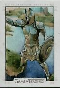 Game Of Thrones Season 5 Sketch Card By Mike James