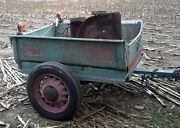 1929 Model A Ford Pickup Bed Trailer Rat Hot Rod Parts