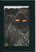 Star Wars Chrome Perspectives 2 Sketch Card By Melike Acar