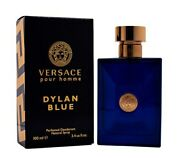 Versace Dylan Blue By Versace 3.4 Oz Perfumed Deodorant Spray For Men New In Box