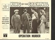 1955 Movie Lobby Card 4-1825 - King Of The Carnival - Serial Ch4