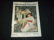 1916 January The Countryside Magazine - Beautiful Front Cover - Gg 305