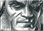 Marvel X Men 3 The Last Stand Sketch By Sean Pence
