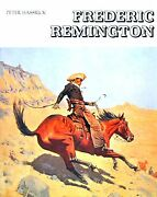 Frederic Remington By Peter Hassrick 1975, Hardcover