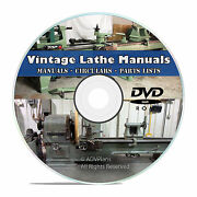 350+ Lathe Owners Manuals Instructions Parts List American Tool Oliver Cd V46