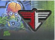 Mars Attacks Invasion Patch Relic Card Mp-6