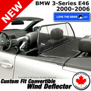 Love The Drive Convertible Wind Deflector For Bmw E46 3-series 00-06 330ci M3
