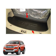 2015 2016 2018 Rear Cargo Trunk Tray Trim Black 1 Pc Fits Ford Everest Endeavour