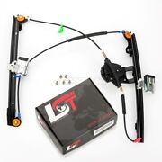 Complete Manual Window Regulator Front Right For Vw Golf Mk3 Vento