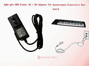 Ac Adapter For Concertmate Keyboard 1000 1000m 1070 410 660 670 680 690 970 980