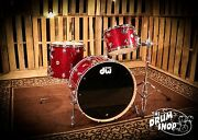 Dw Collectors Series Shell Pack In Ruby Glass Finishply Video Demo