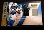 Deangelo Williams 2010 Gridiron Gear Dual Game Used Jersey D /15 Panthers