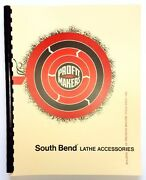 South Bend Lathe Accessories Manual With Parts Breakdowns