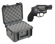 Skb Waterproof Plastic Gun Case Smith And Wesson 340pd Five Shot .38 .357 Revolver