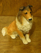 Castagna Dog Figurines 003 Collie, New/box From Retail Store Made In Italy 4.5