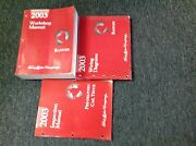 2003 Ford Ranger Truck Service Shop Repair Manual Set W Ewd And Inspection Book X