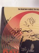 Signed By George Romero +10 Day Of The Dead Vinyl Soundtrack