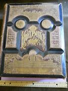 Large Victorian Leather Pictorial Holy Bible 1886, Rare Parallel Column Edition