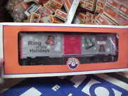 Lionel,,,, 26489------hershey Christmas Bell Boxcar
