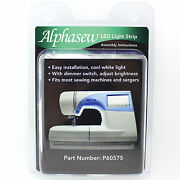 Alphasew 18-bulb Led Light Strip Kit For Sewing Machines And Sergers