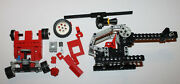 1986 Lego Technic Red Go Kart And Helicopter Sets Incomplete