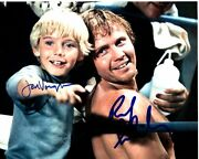 Jon Voight And Ricky Schroder Signed Autographed The Champ Photo Rare