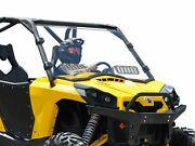 Superatv Can-am Commander 800 / 1000 Scratch Resistant Vented Full Windshield
