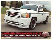2013 Gmc Pickup Lpc Gt And Gt454 Performance Packages Dealer Brochure Literature