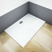 Aica 1600x800x30mm Rectangle Shower Enclosure Bathroom Tray Free Waste Great Val