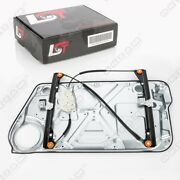 Complete Electric Window Regulator With Panel Front Left For Vw New Beetle