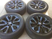 20 Nw Oem Factory Range Rover 502 Autobiography Supercharged Black Wheels Tires
