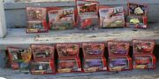 Lot 45 Disney Pixar The World Of Cars Toys Minis Mcqueen Mater Tote Pez Mixed