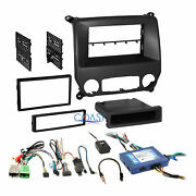 Car Radio Stereo Dash Kit Onstar Harness For 2014+ Chevy Silverado Gmc Sierra