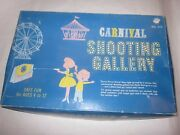 Vintage Ohio Art Carnival Shooting Gallery In Box 575 Wind-up Game