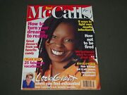 1995 March Mccall's Magazine - Whoopie Goldberg- Beautiful Front Cover - K 733