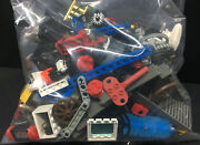[65650] C1990and039s Lego And Lego Technic Parts From City Castle Pirate Sets +1 Lb.