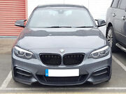 Bmw F22 F23 2 Series Coupe Cabriolet Kidney Gloss Black Grill Grille M2 Style