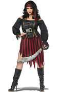 Pirate Queen Of The High Seas Plus Size Costume