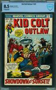 Kid Colt Outlaw 165 Cbcs Like Cgc 8.5 Oww Pages 1972 L1