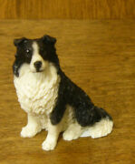 Castagna Mini Dog Figurines 362n Boarder Collie, Made In Italy, New/box