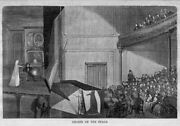 Theatre Ghosts On Stage Illusion Special Effects 1864 Harperand039s Weekly Ghost