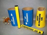 Safety Labels For Compressed Air Pipes Assorted Lot