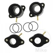 Motorcycle Yamaha Xjr 1300 2002-2006 Carb Intake Rubbers X4