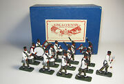 King And Country Glossy Grpd1 10th Gurkha Rifles Pipes And Drum Band Aa-11384/s2